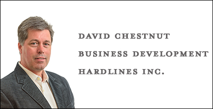 David Chestnut, VP Business Development, Hardlines Inc.