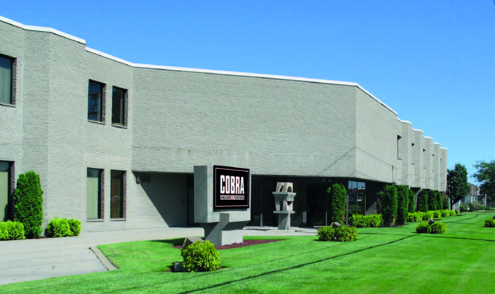 cobra anchors invests in montreal plant