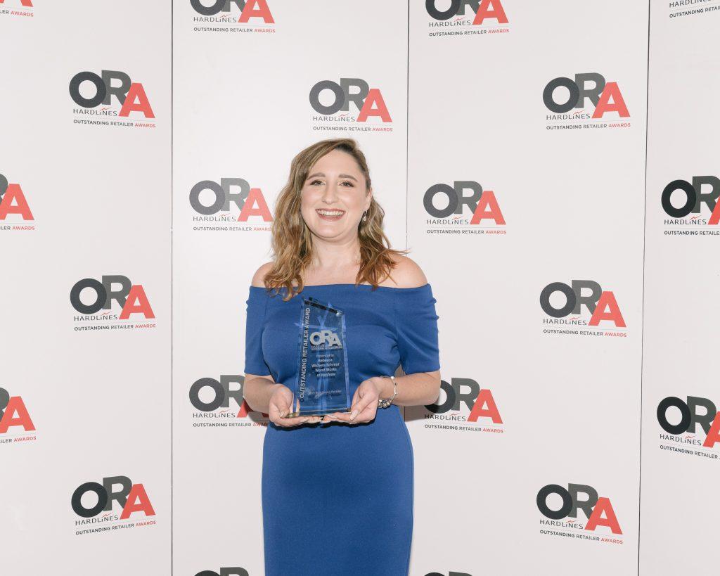 Young Retailer Award - Rebecca Wichers-Schreur, Wood Works of Renfrew