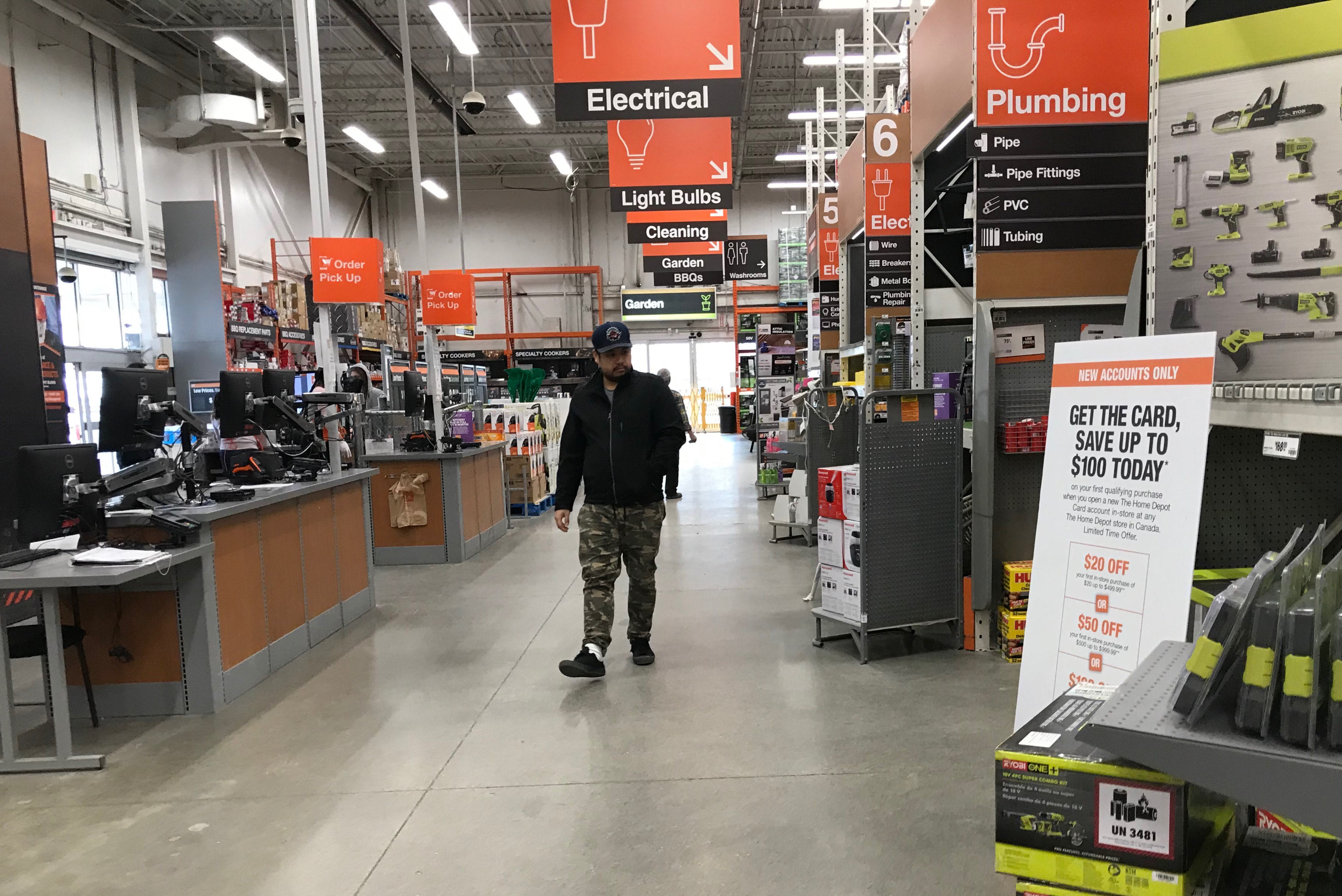 Home Depot Canada Increases Covid 19 Safety Measures Hardlines